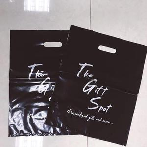 garment t shirt jeans shopping carry custom printed plastic bags with own logo