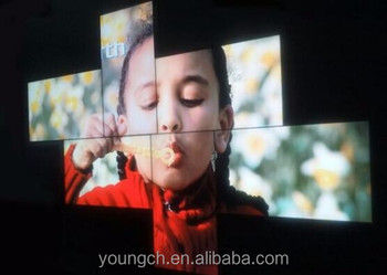 Make A Visual Art Form By Using 47 Inch Irregular Video Wall Creative Video  Advertising Ultra High Definition Screens Organized - Buy Irregular Video