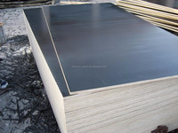One hot press time black film faced plywood/marine plywood