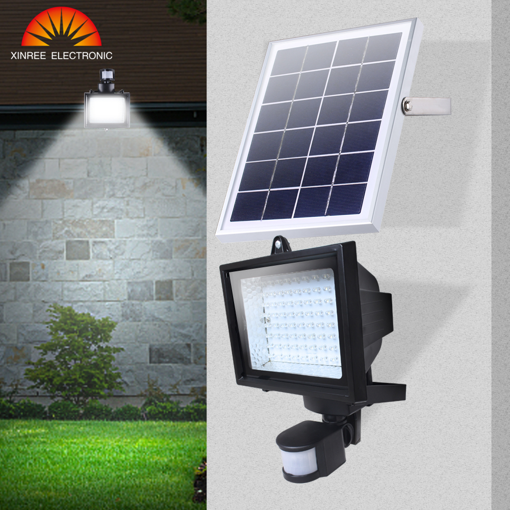 Xinree SL-70C Wholesale Motion sensor Solar LED garden/wall/Floodlight / Solar Powered LED <strong>Spotlight</strong> with PIR
