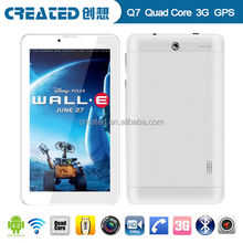 IPS LCD Quad core Android tablet pc 3g phone call