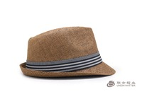 Chinese supplier women men summer beach paper sun cowboy straw short brim sea grass hats