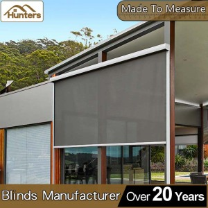 Indoor & Outdoor Sun shading Retractable window balcony awnings