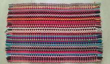 Wonderful Washable Antiskid Multi Colour Beautiful Stripes Cotton Rag Rugs /carpet,  Washable Antiskid Multi Colour