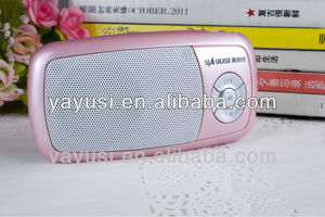 tf micro sd music player fm radio usb mini speaker