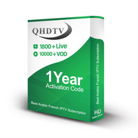World Global IPTV Free Test Account QHDTV Subscription 12 Months with 1800 Plus Channels and 10000 VODs