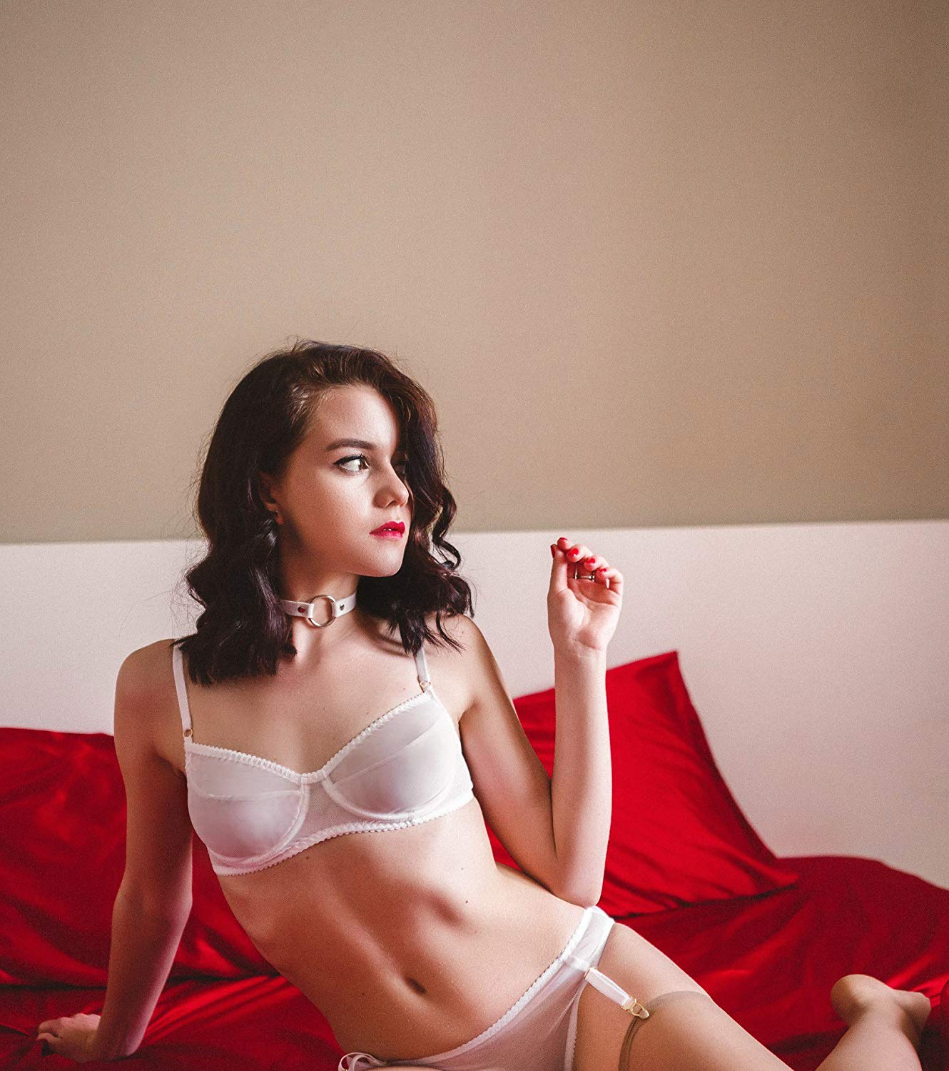 1bfe764aa129b Get Quotations · Impudent bra in white color