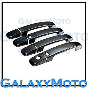 Coupe Chrome 2 Door Handle+2 Smart hole+no PSG KH Cover for 07-12 Nissan Altima