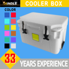 Marine Ice Box with Tight Locking Hooks Keeping Interior Integrity Prevent Attacked by Black Bear