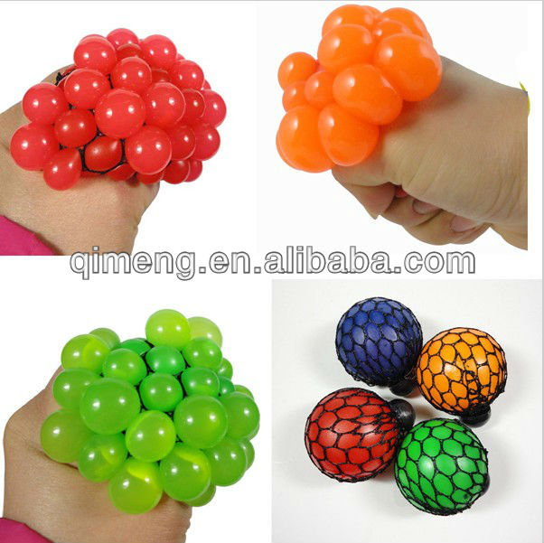 Hot Sale Mesh Jelly Squeeze Balls For Promotion