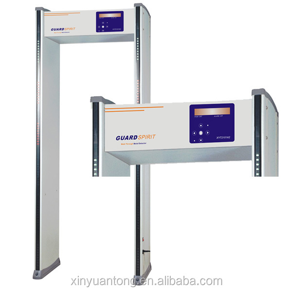 high sensitivity security body scanner, walk through metal detector with cheap price