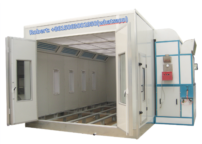 Good quality gas car spray booth