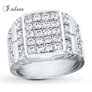 925 sterling silver jewelry king design silver man ring R50846
