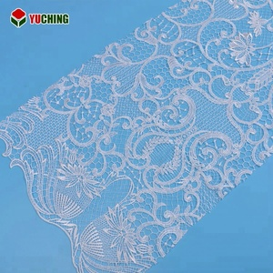 SLT00607 Garment accessories custom water soluble wedding fabric lace embroidery