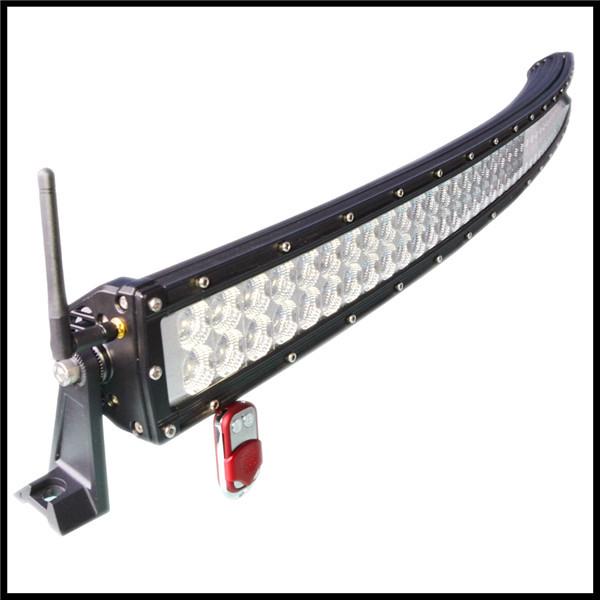 New Optics 288w Colorful Led Light Bars Ip67 Curved Led Light Bar ...