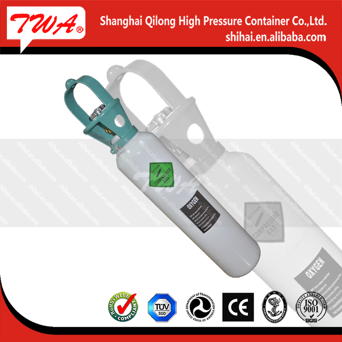 Low price 5L 8L 10L 15L pressure steel gas cylinder with burner