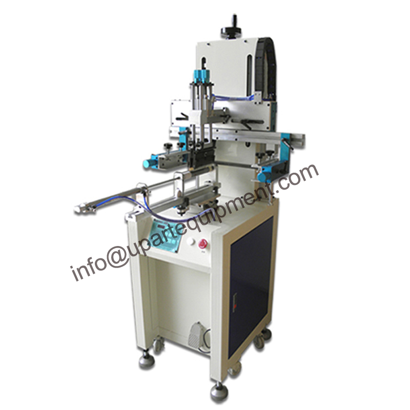 single color pattern on tube germany screen printing machine