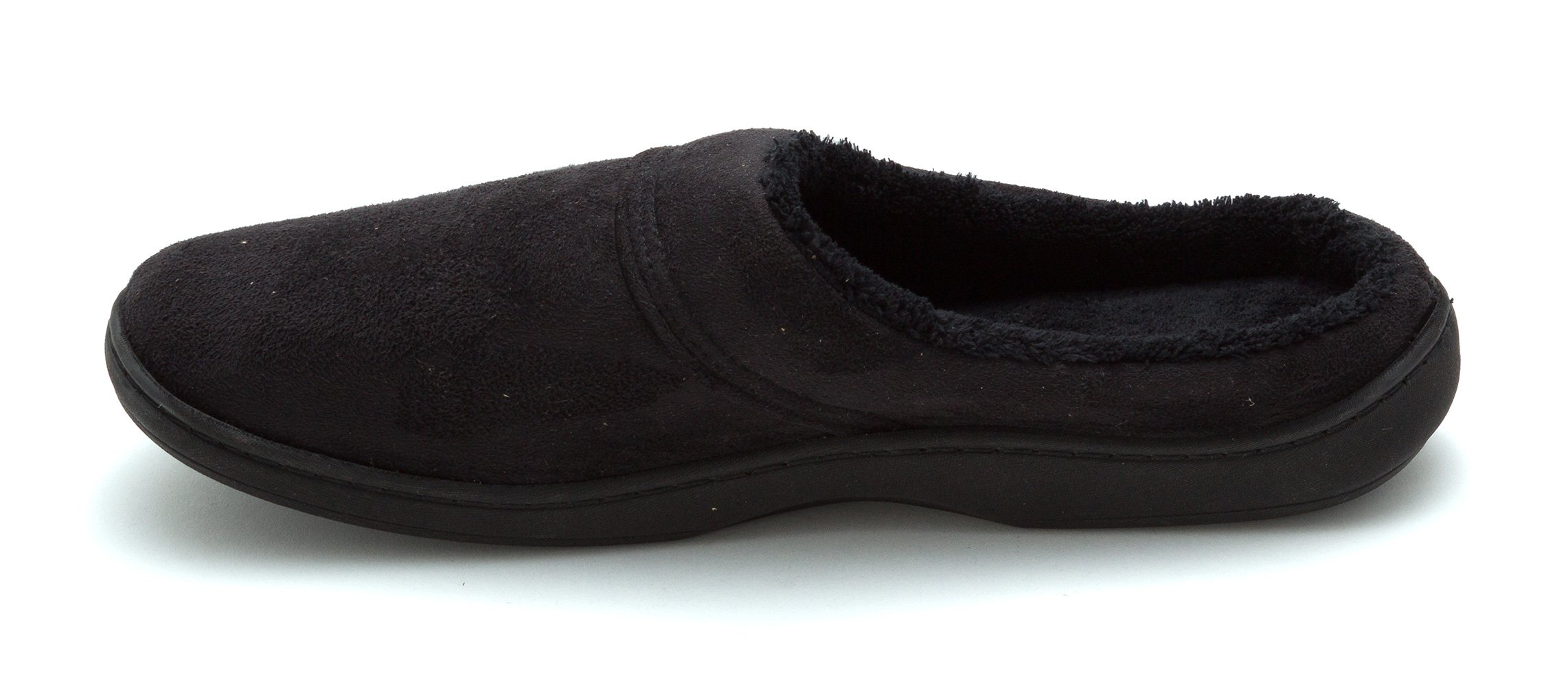 df3cfb436ca22 Get Quotations · ISOTONER Mens Men's Slip-on Mule Closed Toe Slip On  Slippers