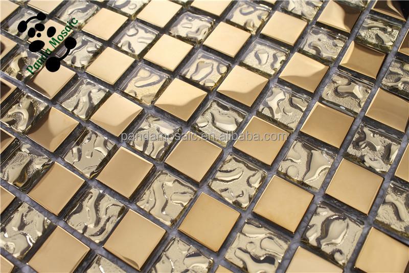 Alcali personalizzato oro argento festone puzzle di arte modello