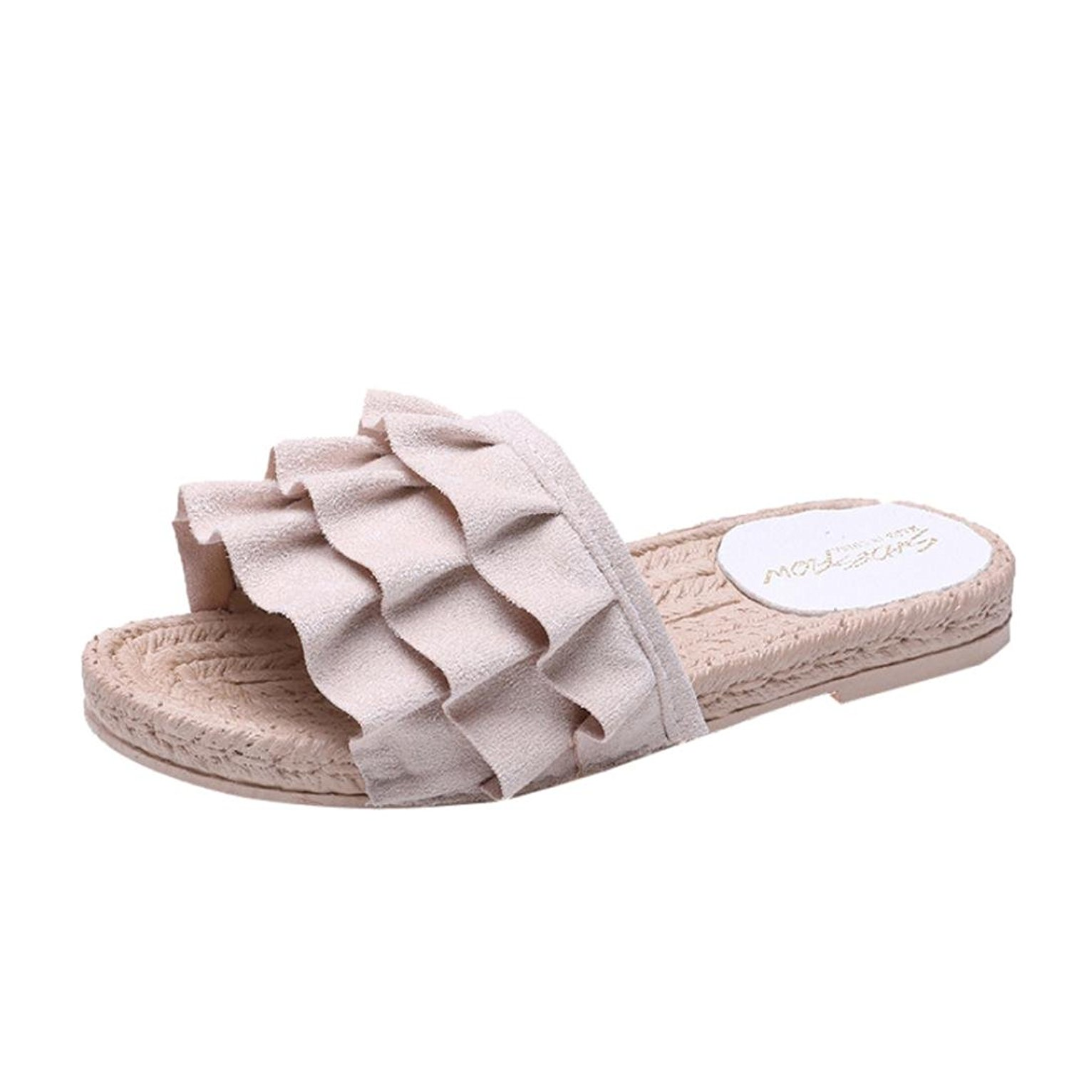 10d58cbc9 Get Quotations · ❤️Flats Sandals Women Lady Girl❤️Baomabao  Yellow