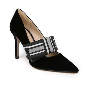 dcabe06fc Модные женские туфли-лодочки шелковистый бархат; удобные женские туфли на низком  каблуке; женские