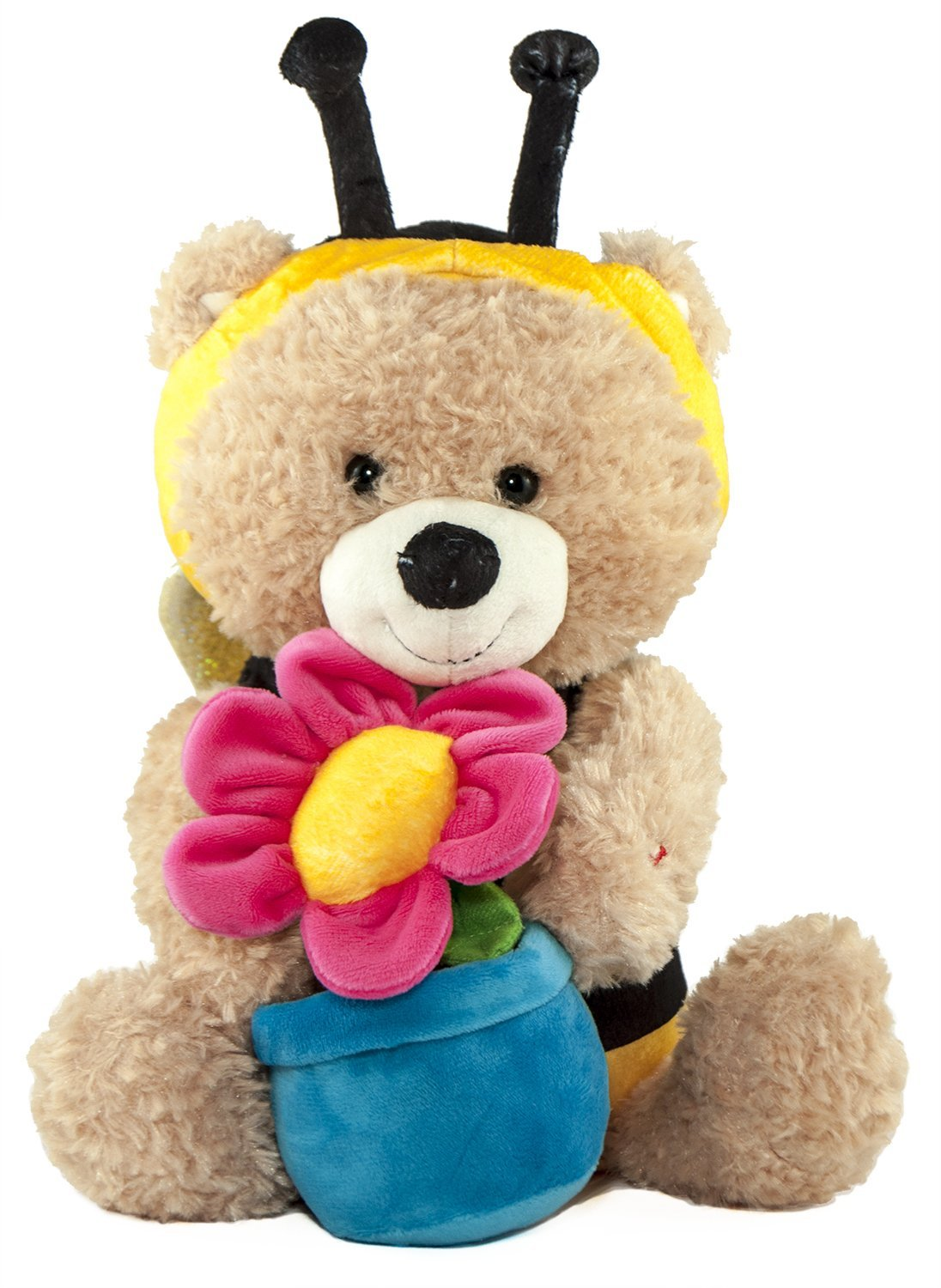 "Animated Singing And Dancing Bear in Bee Costume, Sunny Bee- by Cuddle Barn; Sings ""You Are My Sunshine"""