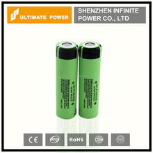 Mechanical mods battery panasonic ncr 18650b 3400mah 3.7v for flashlight high capacity battery cell