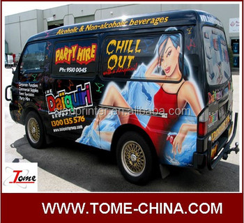 advertising car wraping vinyl sticker printing vehicle graphics