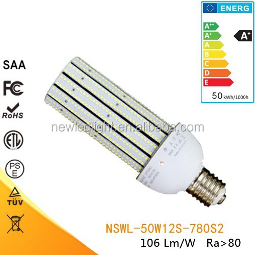 High power multiple international certificates 50W LED corn light