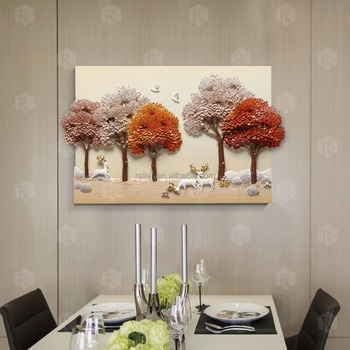 Popular Home Luxury Accessories 3d Wall Art Painting Wall Painting