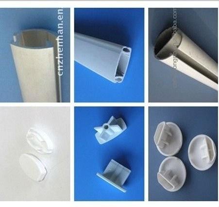 Plastic Zebra Blind End Cap For Bottom Rail End Caps For