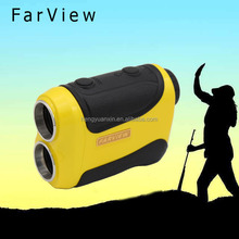 6X magnification 600m high-accuracy laser rangefinder for hunting with speed sensor popular hunting range finder scope