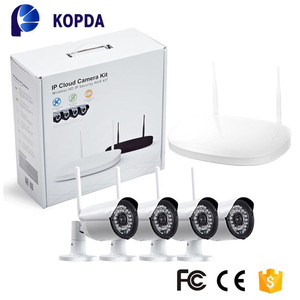 security cctv hd camera system home security ip 1080P 4ch kit