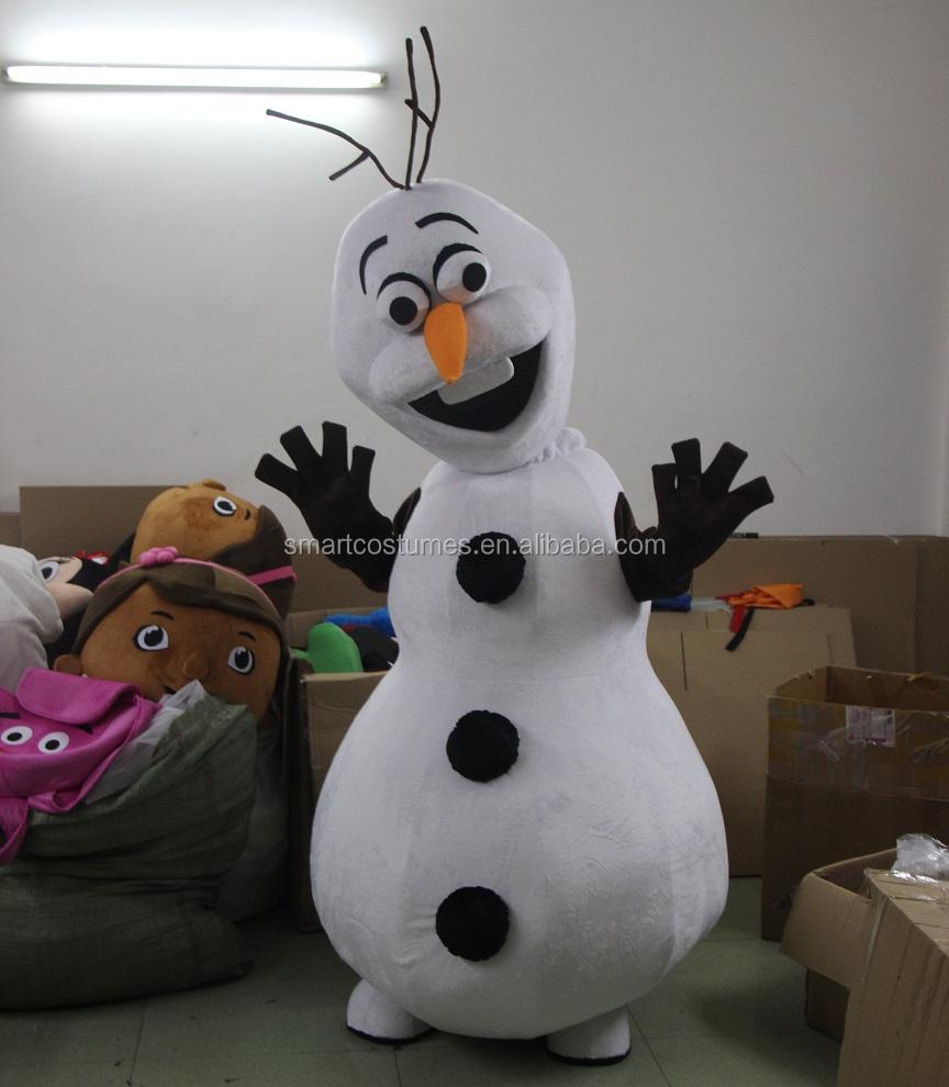 Chaude carton costume bonhomme de neige olaf costume de - Bonhomme de neige olaf ...
