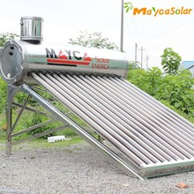 20 tubes stainless steel non pressure solar water heaters, vacuum tube solar collector, solar system