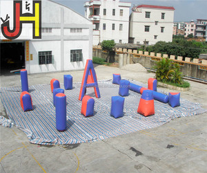 Free Design Cheap EXW Price Paintball Arena Inflatable Air Bunkers Paintball