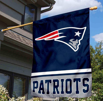New England Patriots 2 Sided House Flag outdoor flag garden flag
