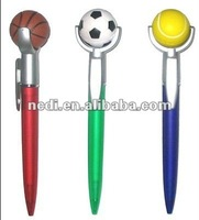 Tennis shape ball pen for promotional