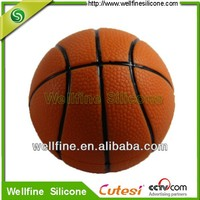 silicone basketball for souvenir ODM products