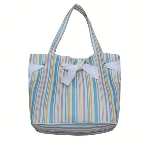 Colorful Water Resistant Beach Tote Bag