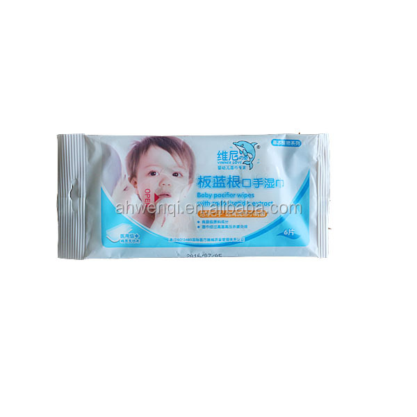 10pcs/bag fruity fragrance oem china manufacturer wholesale high quality wipes