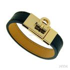 New design Men Leather Stainless Steel kelly bracelet