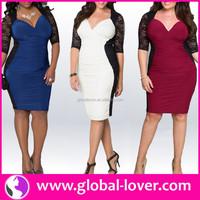 Low moq woman's big size dress xxxl size dress plus size formal dresses