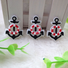 Fashion Loose New Anchor Resin Lucite Flatback Cabochon For Necklace Making