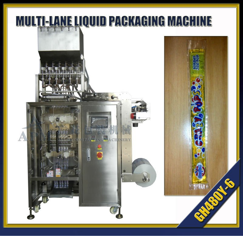 Multitracks Ice Lolly Packaging Machine - Buy Ice Water Packaging  Machine,Liuqid Packaging Machine,Multilines Ice Lolly Packing Machine  Product on