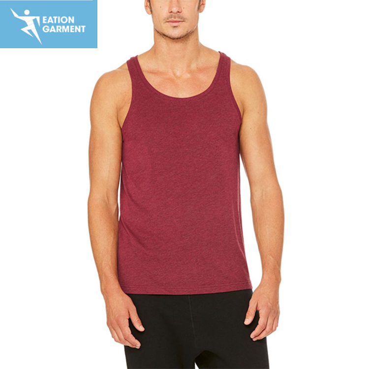 gym mens sports yoga tank top comfortable workout fitness clothing wholesale