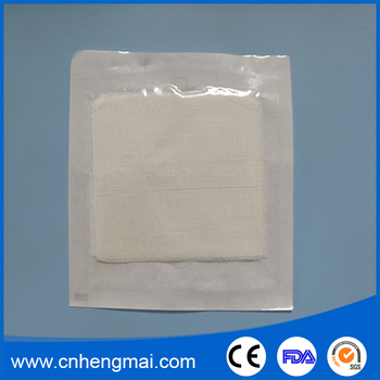 all types cotton compressed gauze swabs surgical gauze sponges for