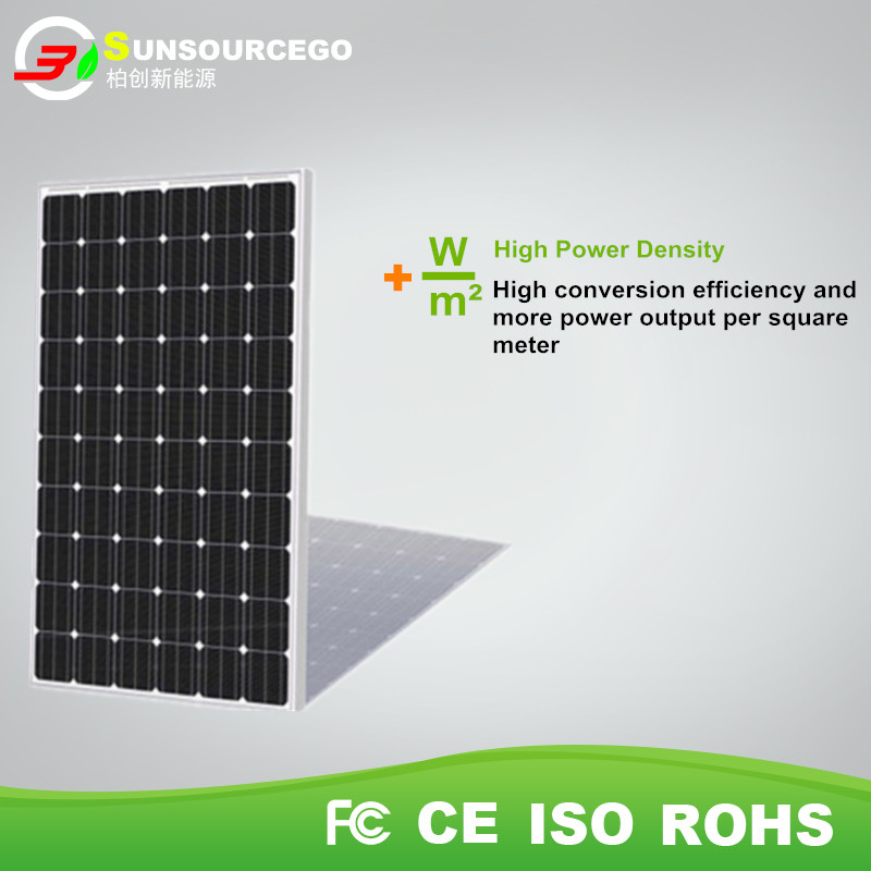 2017 High Efficeiency Flexible Mono 250 watt solar panel 1000 watt solar panel system on home