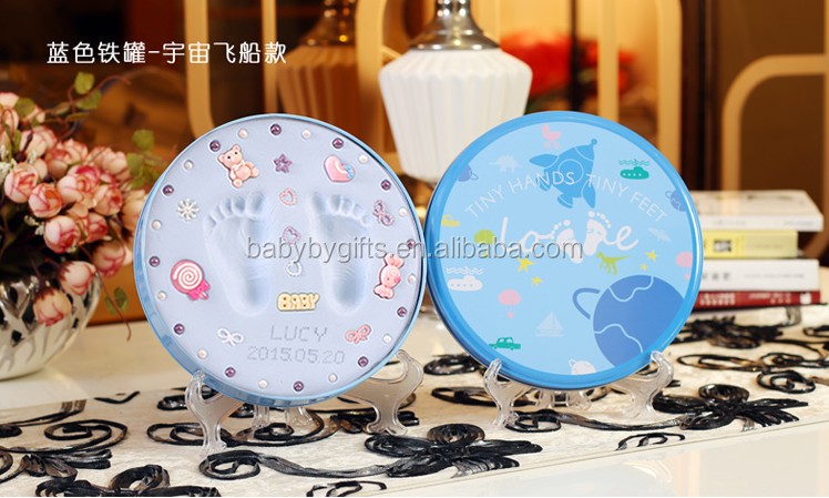 hotsale baby handprint art kit clay with tin box keepsake buy clay