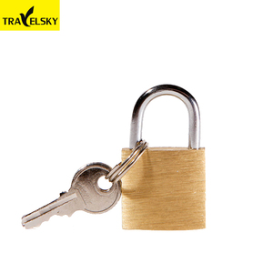 13000BR01 High Quality simple brass pad key lock with 3 keys